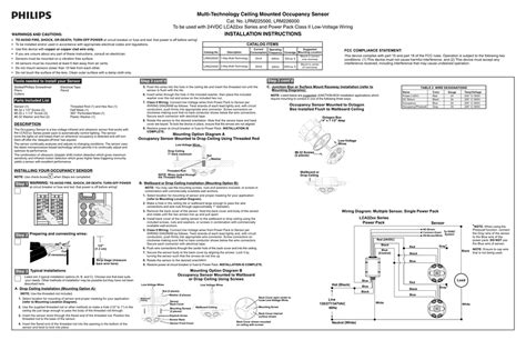 ceiling mount occupancy sensor wiring diagram 45 wiring