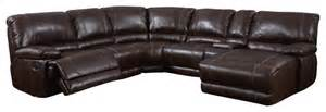 global furniture usa 1953 6 bonded leather sectional