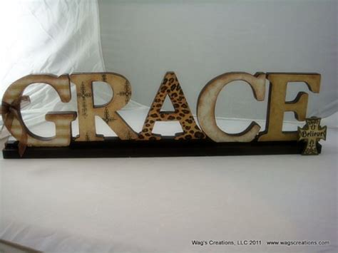 other words for home decor wooden letters and gifts by wag s creations artfire com