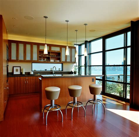 Adding Kitchen Cabinets city view residence contemporary kitchen seattle