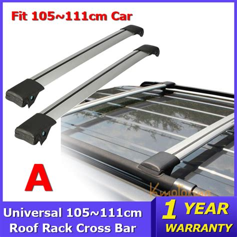 Auto Roof Rack Cross Bars by Universal 93 111cm Car Roof Rack Cross Bar For Jeep Auto