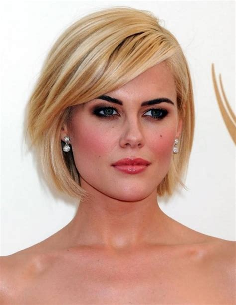 haircuts with images sweet short bob hairstyles with side bangs for oval faces