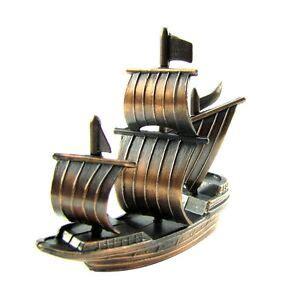 Metal Pirate Ship Wall