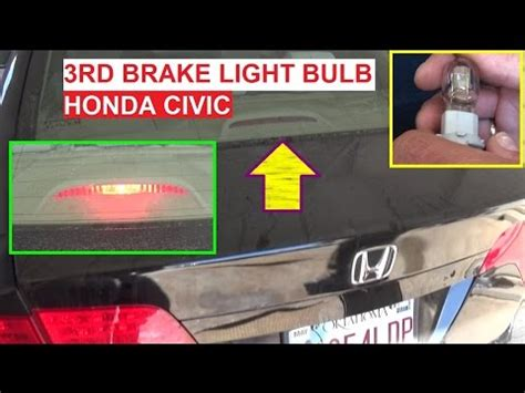2008 honda civic third brake light honda civic fog lights chl drl module demonstration 2