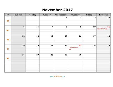 printable calendar november 2017 word november 2017 calendar word 2017 calendar printables