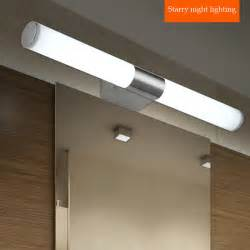Bathroom Vanity Lights Led by Contemporary Stainless Steel Lights Bathroom Led Mirror