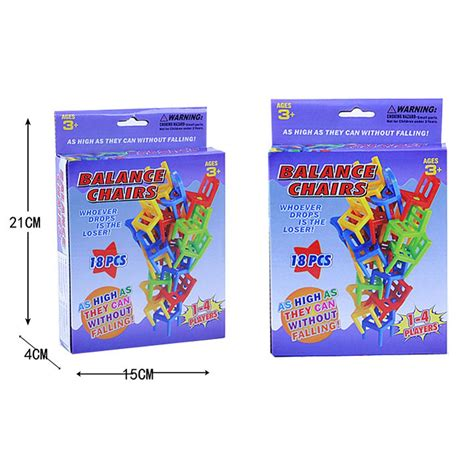 Murah Mainan Tumpuk Kursi Keseimbangan mainan tumpuk kursi keseimbangan multi color