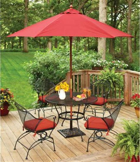 Better Homes And Gardens Clayton Court 5 Piece Wrought Better Homes And Gardens Wrought Iron Patio Furniture