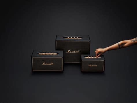 marshall launches   speakers marshall wireless