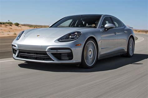porsche 4 door sports car 2017 porsche panamera first test review the ultimate four