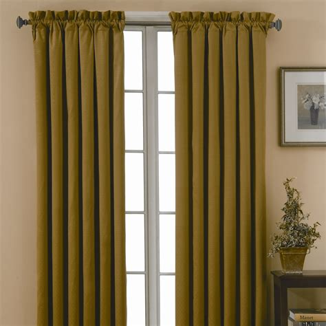 curtain and drapery eclipse curtains canova blackout drapes and valance set in