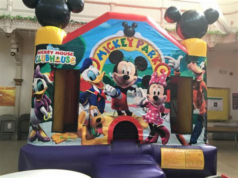 bouncy house rentals nj mickey bounce house rental jlapartyrentals com new jersey