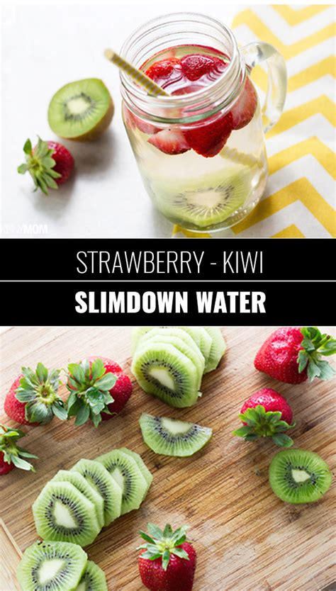 Strawberry And Kiwi Detox Water by 31 Diy Detox Water Recipes Drinks To Start 2016