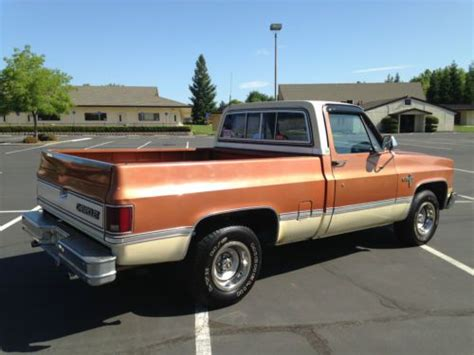 rust free pickup beds find used 1981 chevy short bed rust free in carmichael