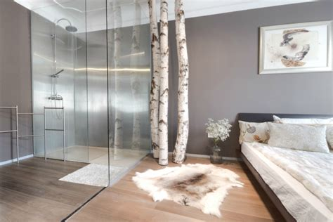 shower in bedroom location meets luxury in this fine ljubljana apartment