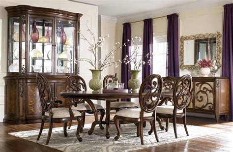 american drew dining room furniture american drew mcclintock couture renaissance dining table 908 744 homelement