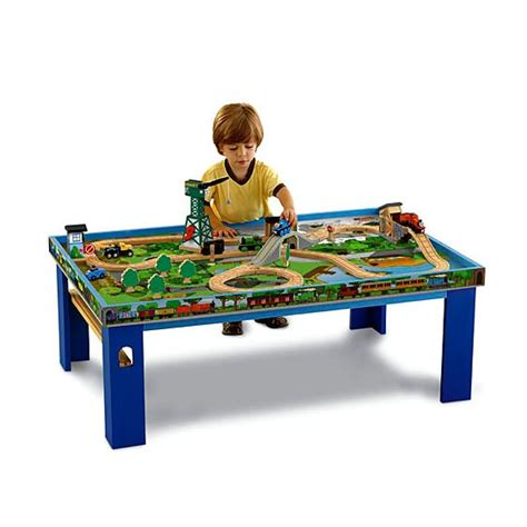 thomas the train bench thomas friends wooden railway island of sodor play table