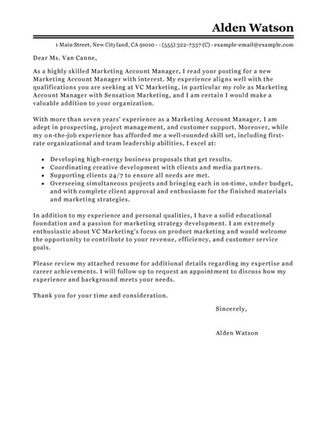 account manager cover letter exles for recruiters 5023
