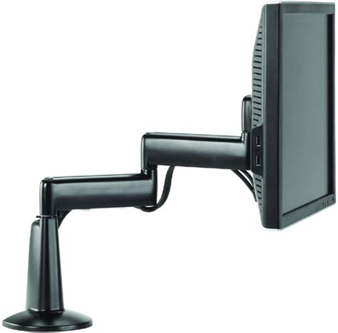 flat screen desk mount chief kcd110b dual arm desk mount single monitor