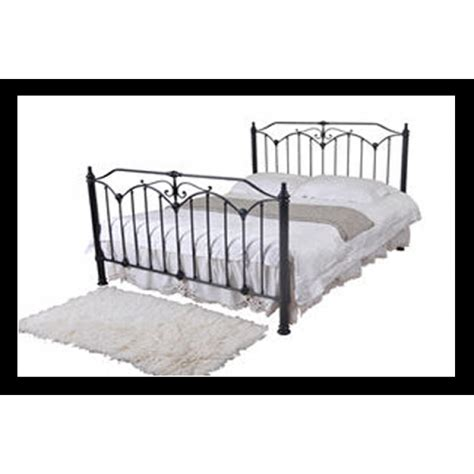 4ft 6 double bed 4ft 6 quot rose metal bed double
