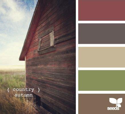 Rustic Color Scheme Warm Earth Tone Colors Color Palette Pinterest A
