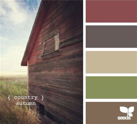 rustic paint color schemes warm earth tone colors color palette pinterest a