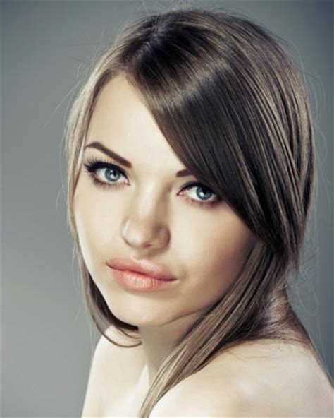 best way to part side swept bangs for oval faces 3 ways to style side swept bangs