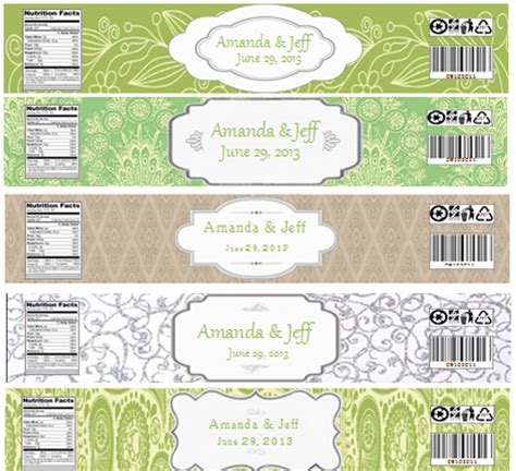 diy water bottle labels template weddingbee gallery pictures of real weddings