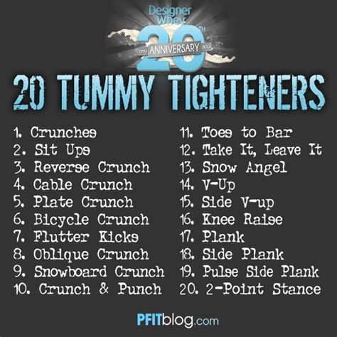 20 terrific tummy tightening exercises 187 pfitblog