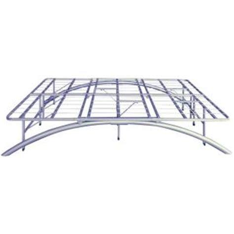 Queen Size Sleek Support Metal Platform Bed Frame Bed Frame Home Depot