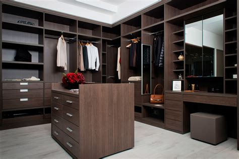 Wardrobe In Room by Why Not Feature A Bespoke Island In Your Walk In Wardrobe