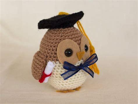 free crochet pattern amigurumi graduation owl graduation owl crochet pattern owl amigurumi by