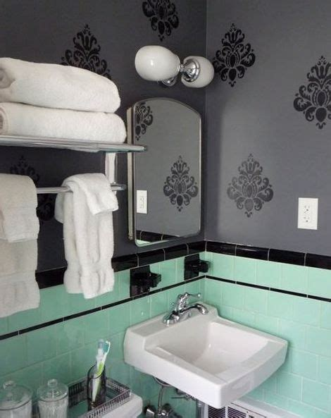 green and black bathroom ideas green and black tile bathroom mint green and black retro