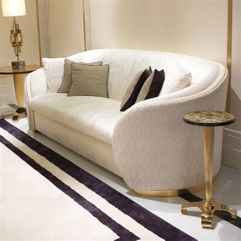 3 seater high end modern designer italian sofa