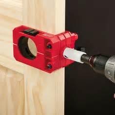 Drill For Door Knob by Dewalt D180004 Door Lock Installation Kit Dewalt