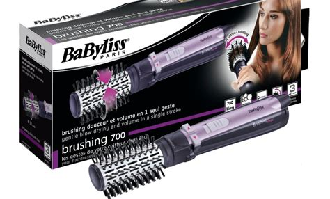 Babyliss Hair Dryer Spinning Brush babyliss as130e rotating brush 700w with ion technology