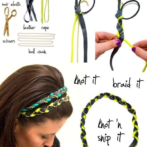 How To Make Paper Headbands - diy braided headbands step by step diyness