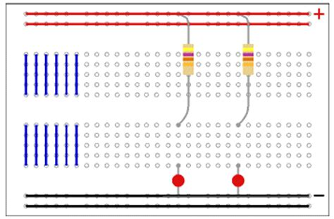 breadboard resistors in series connect resistors in parallel on breadboard 28 images series and parallel circuits learn