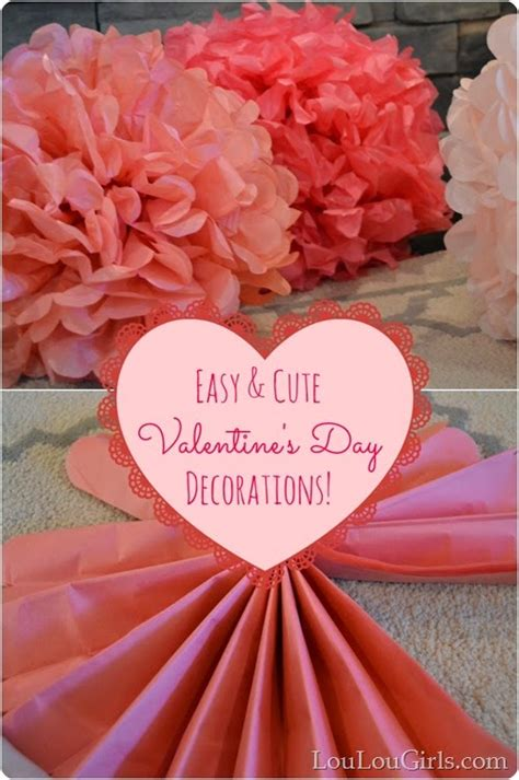 valentine decorations to make at home valentine s day decor craft ideas blooming homestead