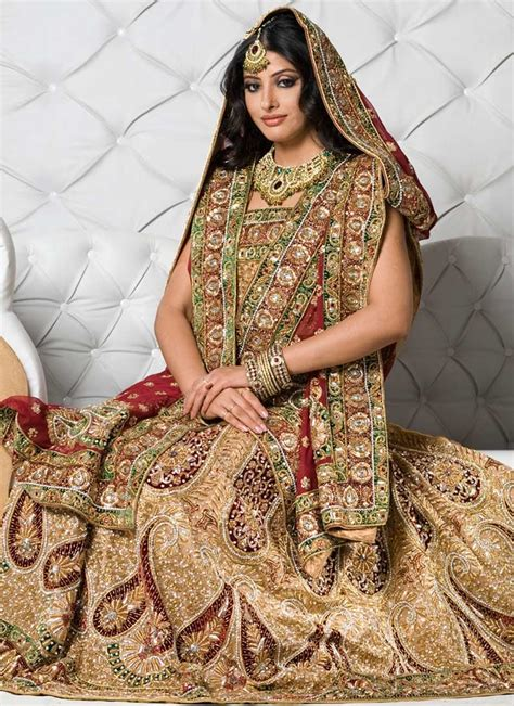 dress design dulhan bollywood bridal dress on the wedding day are indian