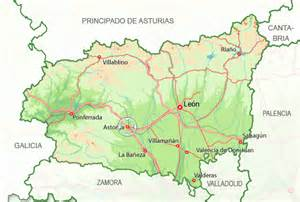 Leon Spain Map by Rural Cottage In Astorga Holiday Rentals Leon Available