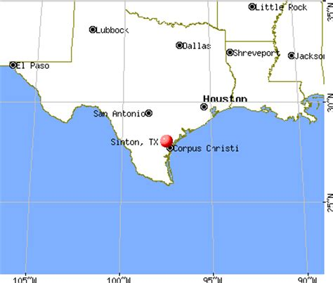 sinton texas map sinton texas tx 78387 profile population maps real estate averages homes statistics