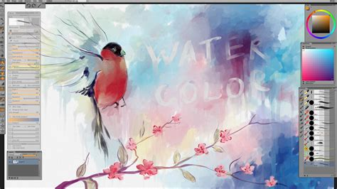 watercolor tutorial video download digital watercolor tutorial youtube