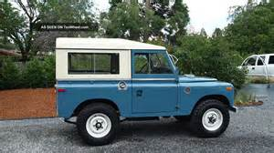 1971 land rover series 2a 88 quot swb