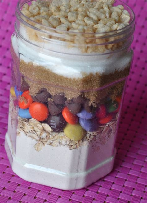 layered ingredients in a jar mason jar love pinterest