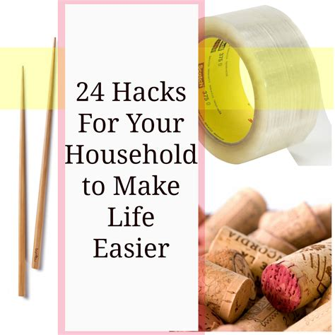 household hacks 24 household hacks to make life easier mythirtyspot