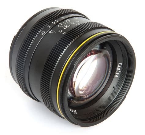and lens reviews sainsonic kamlan 50mm f 1 1 lens review