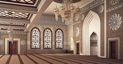 design masjid photoshop el rayan mosque interior design on behance