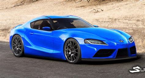 Toyota 2019 Supra by 2019 Toyota Supra Tries On A Slew Of Colors Carscoops