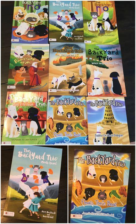 backyard books the backyard trio series of children s christian books
